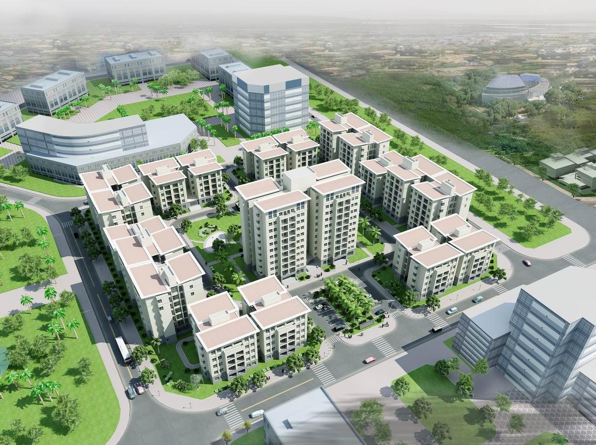 Khu nhà Happy House Garden - KĐT Việt Hưng - Long Biên