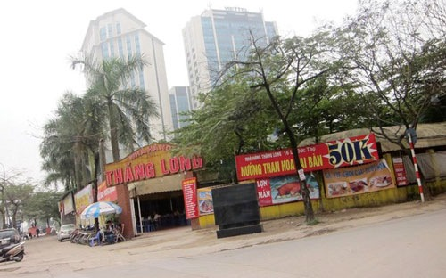 Bộ Tài chính sắp rà soát sử dụng đất công ở Hà Nội